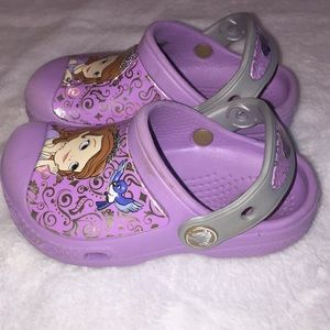 0eb599a740181c CROCS Shoes - Toddler girl Sofia the First Disney Crocs Size 8-9